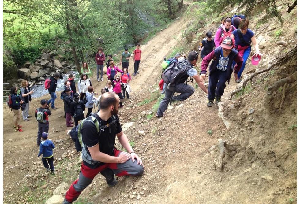 Climbing in Arta